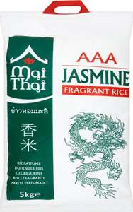 Mai Thai Jasmine Fragrant Rice 5kg £4.50  Morrisons