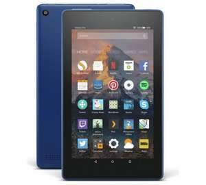 Amazon Fire 7 Tablet with Alexa Assistant 7 inch 8GB with Wi-Fi (2017) - Marine Blue / Punch Red £30.98 @ Tesco Direct