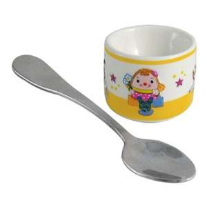 Aynsley China - little miss Humpty egg cup & spoon set OR Humpty Dumpty set was £10.95 now £5.50 @ debenhams