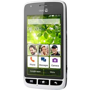Doro Liberto 820 Mini SIM-Free Smartphone - White/Black only £67.50 Sold by NTPUKLTD and Fulfilled by Amazon
