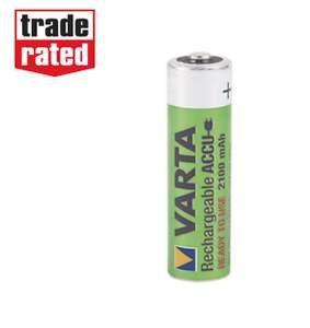 Varta Rechargeable Batteries 4 pk £4.99 @ Screwfix