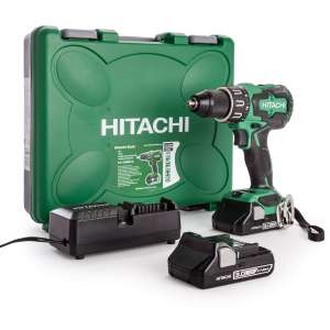 Hitachi DV18DBFL2/JM 18V 70nm Cordless Brushless Combi Drill with 2x 3.0Ah Li-Ion Batteries @ ToolStation