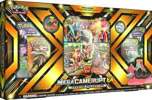 Pokémon TCG Mega Camerupt Ex Premium Collection £16 prime / £19.99 non prime @ Amazon
