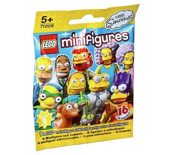 Lego mini figure simpsons 2,  model 71009 reduced to 99p @ argos
