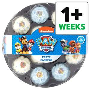 Paw Patrol Cupcake Platter £6.50 - Tesco Online and Instore