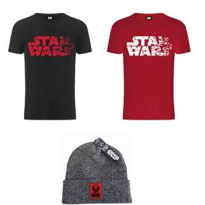 Star Wars Men's The Last Jedi Faded Logo T-Shirt + Jedi Order Beanie £12.99 delivered @ Zavvi