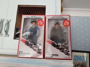 Hateful 8 collectible dolls reduced to £10 at game