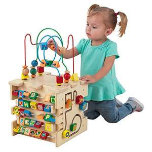 KidKraft Deluxe Wooden Activity Cube £29.25 @ Amazon
