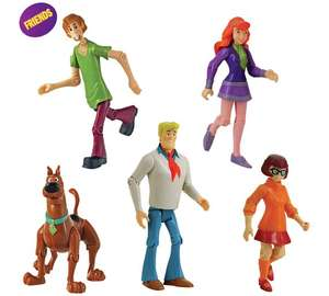 "Scooby doo friends & foes 10 pack of 5"" figures further reduced to £6.99 @ argos"