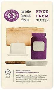 Doves Farm Gluten Free White Bread Flour 1 kg (Pack of 5), £2.52 delivered on s&s @ Amazon