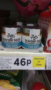 Seafood Sauce with bourbon & Cajun spice 46p @tesco lurgan