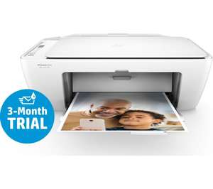 HP deskjet 2620 all in one printer with 3 month HP instant ink trial £19.99 when you buy laptop, tablet, desktop or mac @ PC World