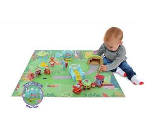 In the night garden deluxe Playmat playset was £39.99 then £24.99 now £16.99 @ argos