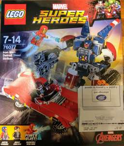 LEGO Marvel Super Heroes Iron Man: Detroit Steel Strikes 76077 £15 instore @ Boots