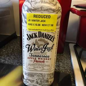 Jack Daniels Winter Jack (70cl) £7.50 at Morrisons (Wymondham)