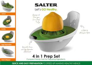 Salter 4-in-1 Prep Set reduced to £2.50 (was £8) @ Tesco instore
