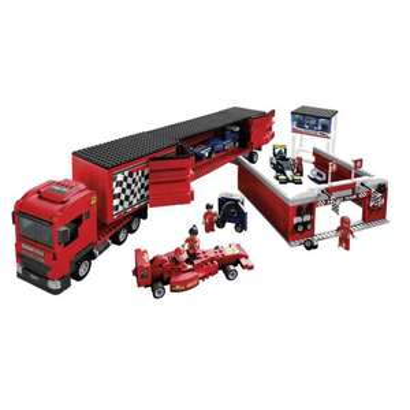 Wilko (instore) Blox Race Car Transporter Building Brick Set was £60 - £15