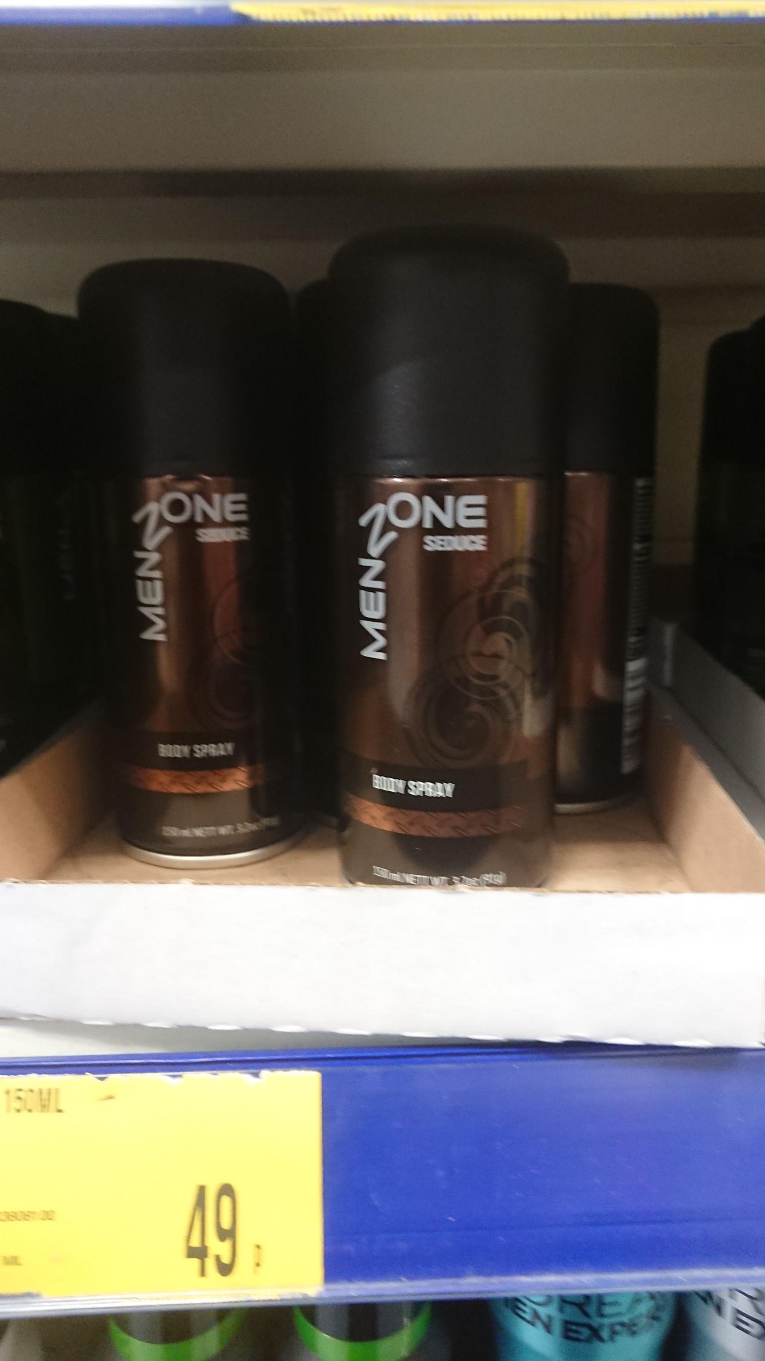 Menzone Seduce Body Spray £  0.49 150 ml B&M