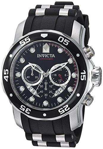 Invicta Pro Diver Men's Chronograph Quartz Watch with Polyurethane Strap - was £101.84 now £57.99 @ Amazon