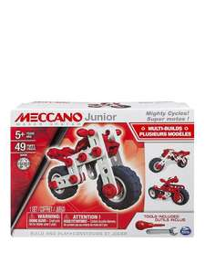 Meccano Mighty Cycles £6.69 free C&C @ Very