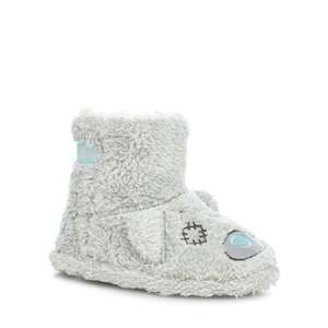 Tatty teddy faux fur slipper boots , foot sizes 10-11,12-13,Was £14 now £4.20 @ debenhams