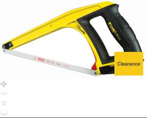 Stanley Fatmax 5 in 1 Hacksaw 17in £10.00 @ Wickes Free click and Collect