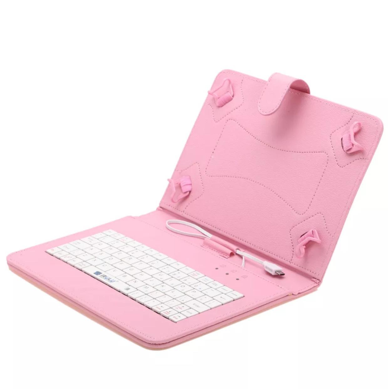"iRulu 9"" universal micro usb keyboard case stand cover only 99p @ eBay (seller: bigbannertech)"