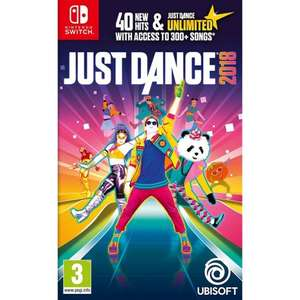 Just Dance 2018 (Nintendo Switch) £24.99 Delivered @Thegamecollection