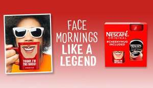 Nescafe Original 300g with Cheeky Mug plus a 3in1 sachet - £5 at Asda In-store and Online