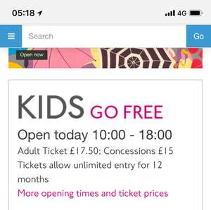 London Transport Museum Covent Garden Free Children's Entry (no limit within reason) with a paying adult (£16 if you book online) Children Aged 0-16