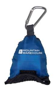 Mountain Warehouse Clip Travel Towel - Small - 40 x 40cm blue or purple. Was £7.99 now £1.99 + £3 delivery @ Tesco / sold by Mountain Warehouse