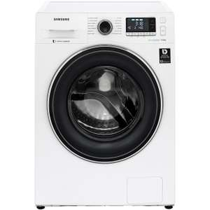 Samsung WW5000 Ecobubble WW90J5456FW 9Kg Washing Machine with code plus 5 YEAR WARRANTY £379 with code - ao.com