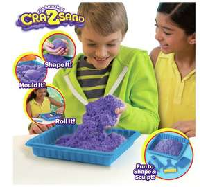 Cra-Z-sand deluxe sand playset now £10.99 was £21.99 @ argos