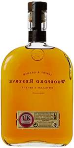Woodford Reserve/Gentleman Jack 70cl whiskey £22.50 @ Amazon