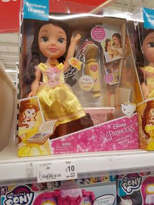 Belle singing doll - £10 instore @ ASDA (Hunts Cross)