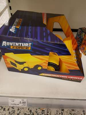 Adventure force Construction Vehicle £3.80 instore @ ASDA (Hunts Cross)