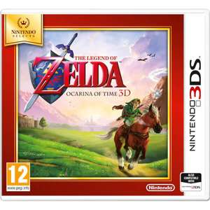 The Legend of Zelda: Ocarina of Time - Nintendo 3DS - £13.99 @ Argos / Tesco Direct