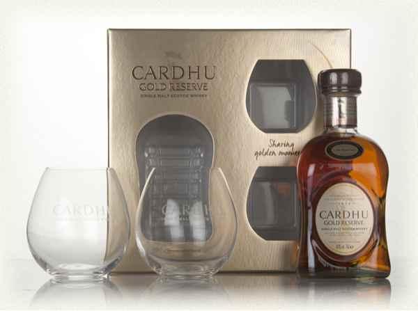 Cardhu Gold Reserve Gift Pack - SAVE £20, RRP £44.95 - £24.95 / £29.84 delivered @ Masters of malt