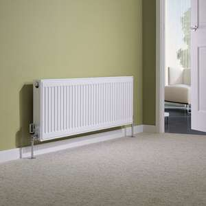 Best Heating: Milano Compact - Type 21 Double Panel Plus Radiator - 400mm x 1200mm £50 then get discounts + cashback = potentially £44.65 delivered