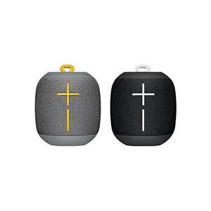 (Pack of 2) Ultimate Ears WONDERBOOM Bluetooth Speaker w/ Double-Up Connection (Black & Grey) £99 @ Amazon