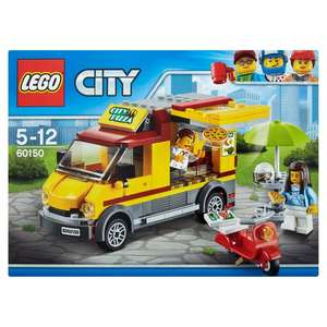 Lego city pizza van plus others half price £7.50 @ morrisons