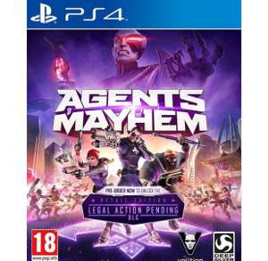 Agents of Mayhem - Day One Edition (PS4) £6.99 TGC