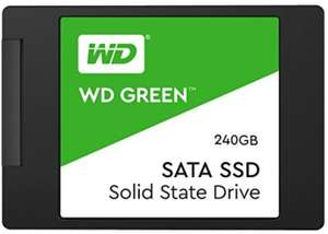 Western Digital SSD Green 240GB 2.5 7mm SATA Gen 3 - £62.98 at Amazon