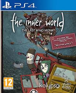 The Inner World: The Last Windmonk (PS4) £12.99 (Prime) £14.98 (Non-Prime) Delivered @ Sold by Frosty Games and Fulfilled by Amazon