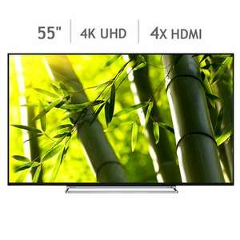 Toshiba 55U6763DB 55 Inch 4K Ultra HD Smart TV - £419.98 @ Costco