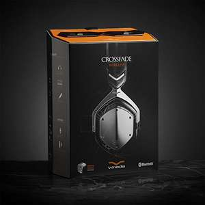 V-MODA Crossfade Wireless Over-Ear Headphone - Gunmetal / Black - Amazon £166.65