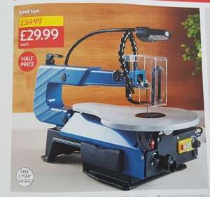 Aldi new store opening sales at Burton Road, Derby on 22nd Feb - Scroll saw £29.99