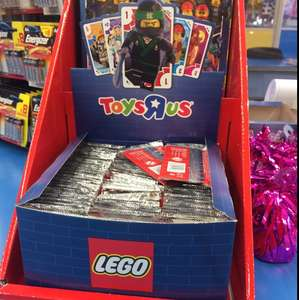 Lego Trading Cards at Toys R Us - 16p (Basildon Store)