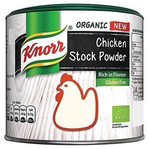 Knorr Organic Chicken Stock Powder 135g Tub 20p @ Poundstretcher