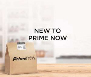 Amazon Prime Now £10 OFF £50 spend (New customers only / county specific)
